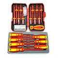 SPIFFLYER 13PC VDE Screwdriver Insulated Special Security Tool &7PC Insulated Screwdriver Set   CR-V High Voltage 1000V Durable