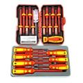 Spifflyer 13 pc vde chave de fenda isolado especial ferramenta de segurança & 7 pc isolado chave de fenda conjunto CR-V alta tensão 1000 v durável