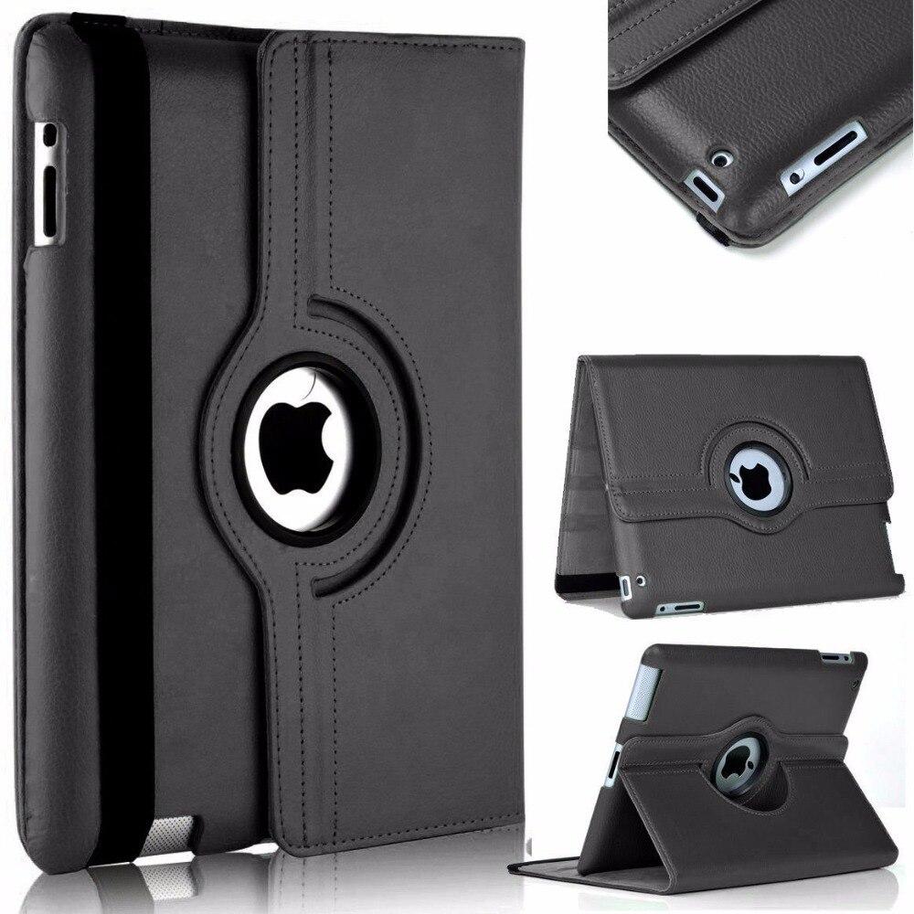Cover Case For funda iPad mini 360 Rotation Flip PU Leather Stand for Coque 123 2 Capa