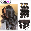 13x4 Lace Frontal Closure 7A Body Wave Mongolian Hair 3 Bundles Mongolian Virgin Hair Body Wave Mongolian Human Hair Extention