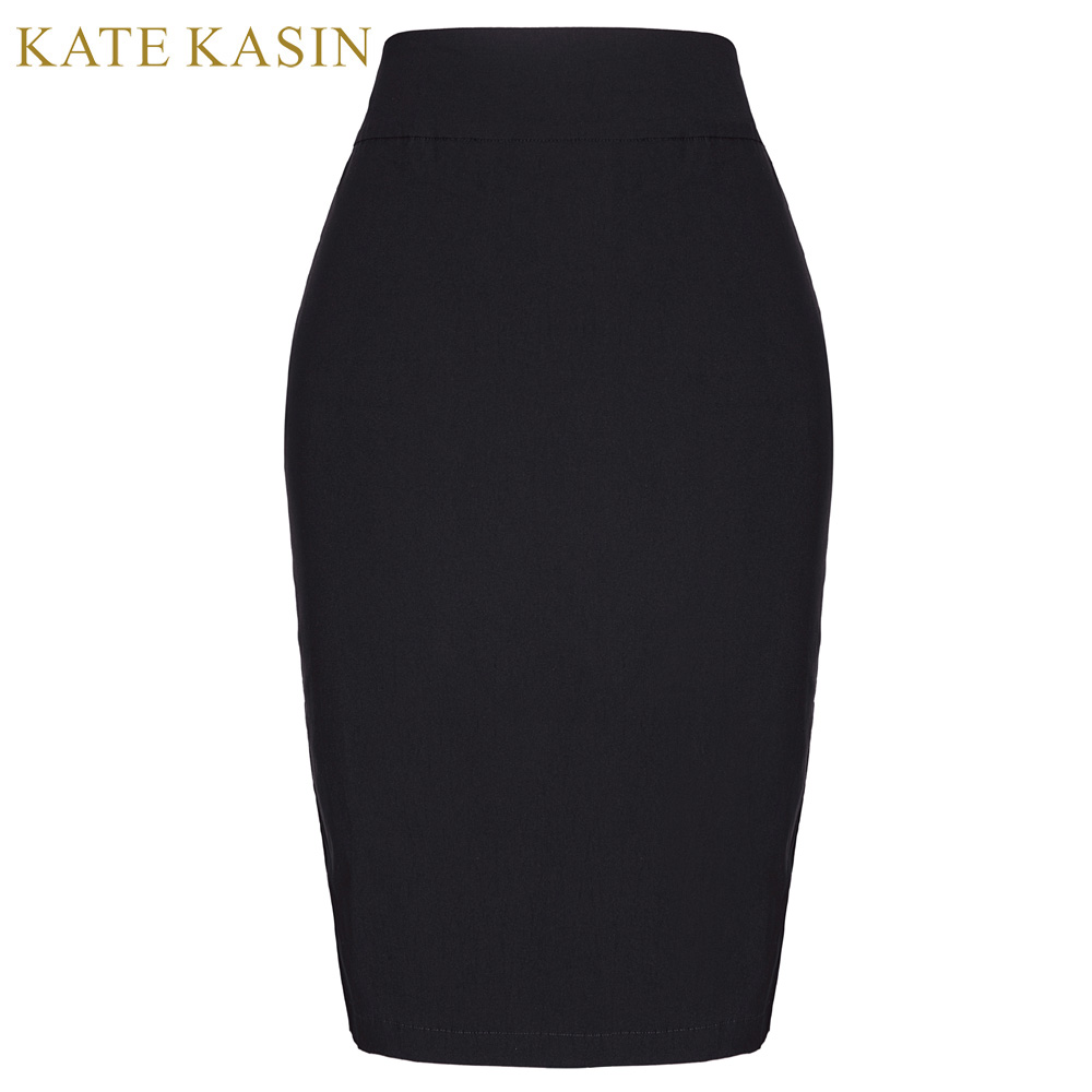 Online Get Cheap Straight Black Skirt Knee Length -Aliexpress.com ...