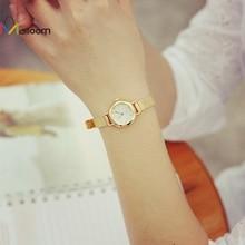 watches women fashion watch 2017 leather stainless steel gold watches 2017 leather bracelet waterproof watch Zegarki damskie #16