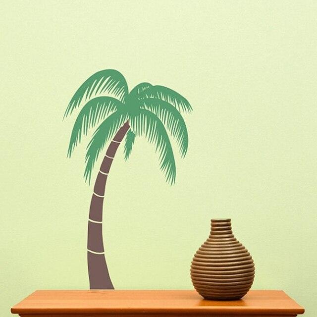 Die Cut Big Beach Palm Tree Wall Sticker ,vinyl Tall Palm Tree Tropical Wall  Decor