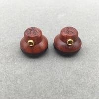 Tiandirenhe MMCX Headset Handmade Red Sandalwood Wood Earplugs Replacement Cable for Shure se215 se535 se846 In ear Earphone