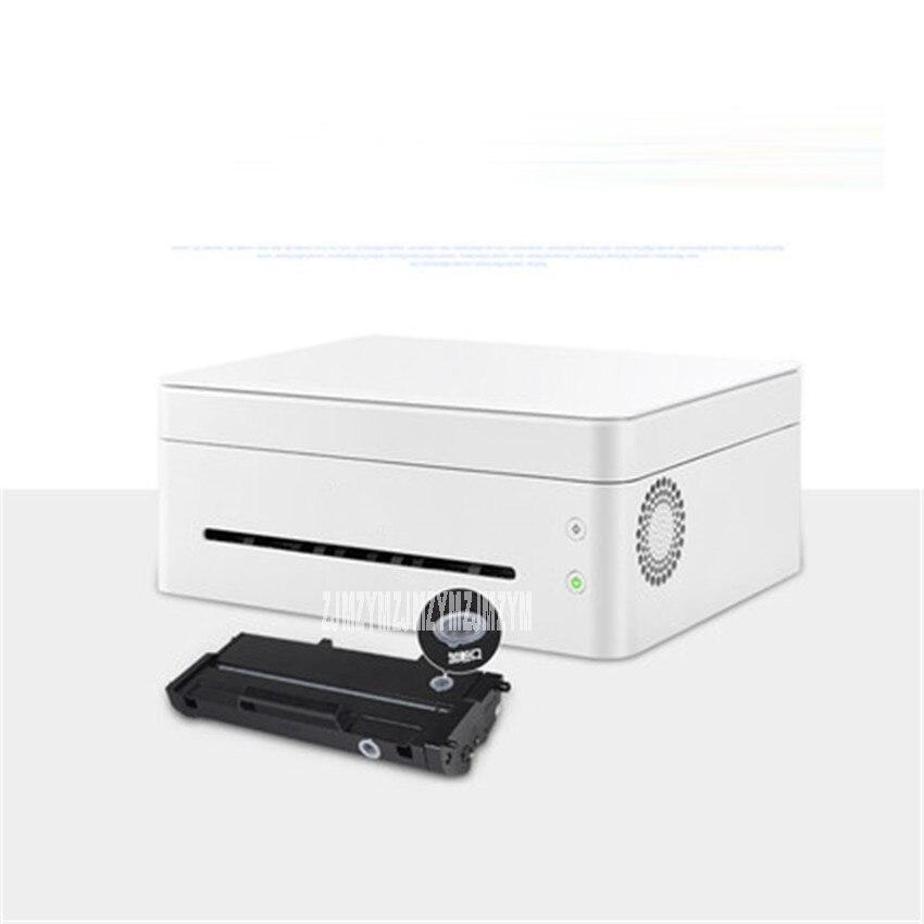 Черно белый лазерный принтер, одна машина, копировальная, беспроводная, Wi Fi, для дома, маленького офиса, скорость печати 22 страницы/минуты, 220 В, M7208W - 3