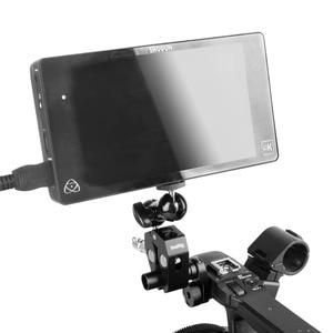 Image 5 - SmallRig Multi function Double BallHead Arm Clamp For DJI Ronin Gimbal DSLR Camera+Locking Knob Kit To Mount Monitors Led  1138