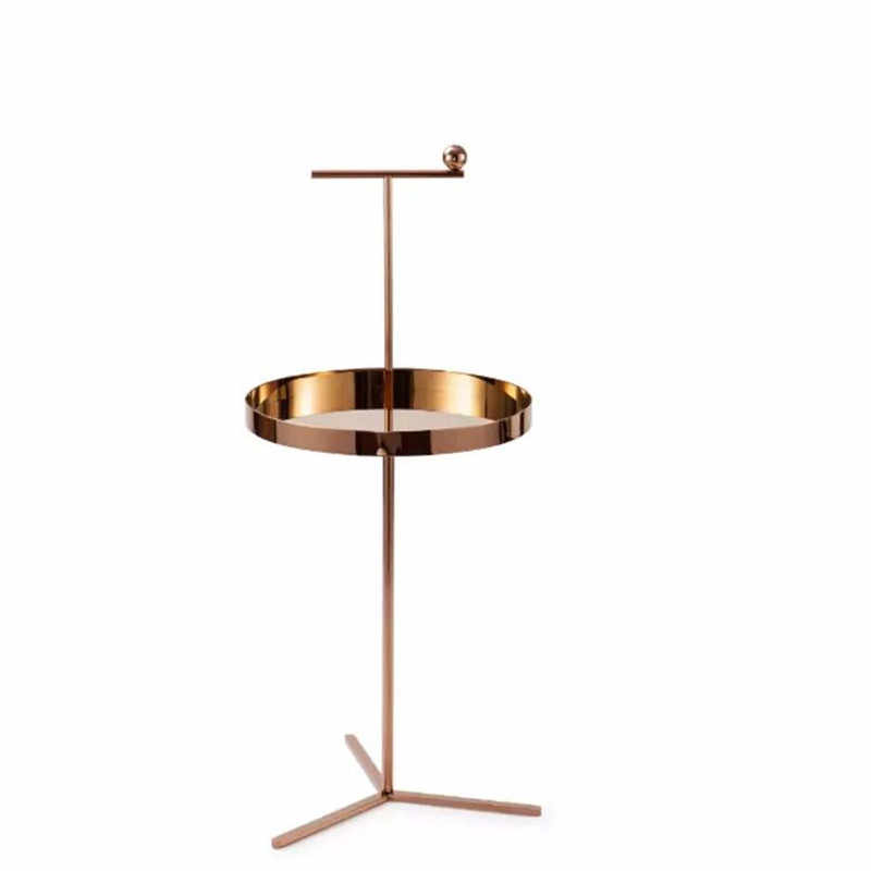 Champagne Gold Tea Table Rose Gold End Table For Office Creative Coffee Table Movable Living Room Bedroom Furniture R1353 Coffee Tables Aliexpress