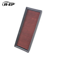 R EP Replacement Air Filter for Audi A5 QUATTRO Q5 A4 ALLROAD 2.0 1.8 High Flow OEM 8KO 133 843E Washable