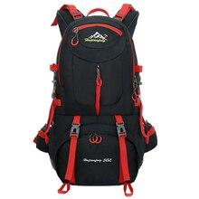 60L Unisex Mannen Rugzak Travel Pack Sporttas Pack Waterdichte Outdoor Bergbeklimmen Wandelen Klimmen Camping Rugzak Voor Mannelijke