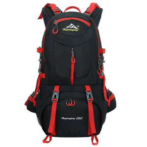 Image 1 - 60L unisex men backpack travel pack sports bag pack waterproof Outdoor Mountaineering Hiking Climbing Camping backpack for male