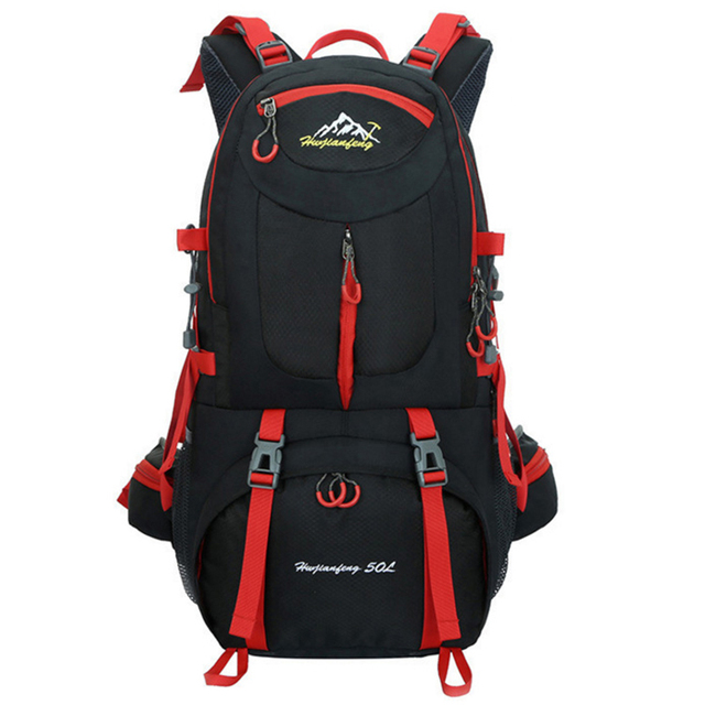 60L unisex men backpack travel pack sports bag pack waterproof Outdoor Mountaineering Hiking Climbing Camping backpack for male