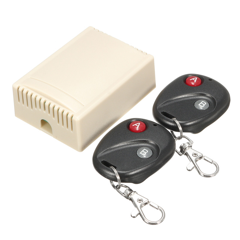 2 Channel Wireless RF Remote Control Switch Controller Garage Door 315MHz Momentary  Door Access 2 Fob Hot купить