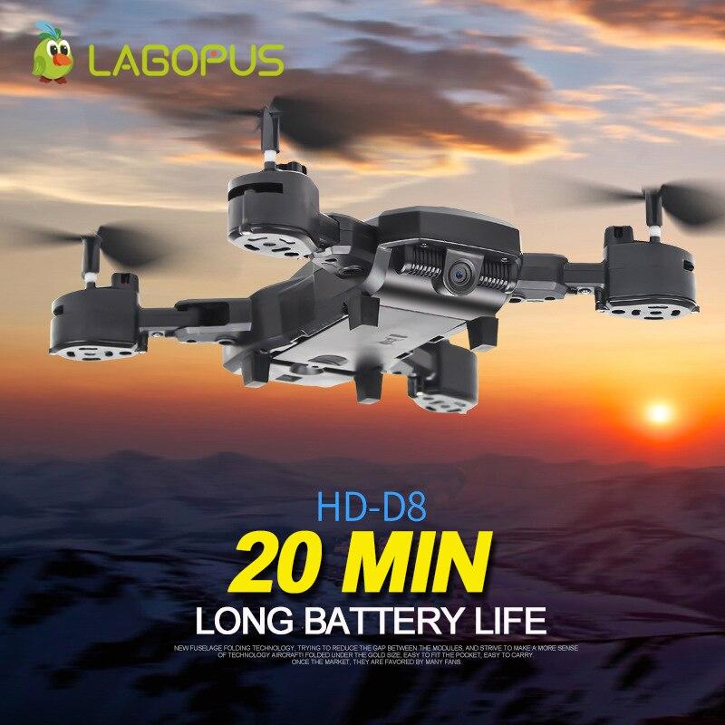 Lagopus D8 Caméra Drone 20 Minutes batterie de Drone 5MP FPV WIFI 1080 P Drone avec Caméra HD quadrirotor Mini Drone Pliable