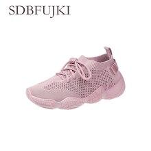 Vrouwen Sneakers Mode Lichtgewicht Mesh Platte Lente Zomer Vrouwelijke Vulcaniseer Schoenen Elastic Breathable Solid  Zapatillas