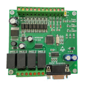 Image 3 - PLC Industrial Control Board FX1N FX2N 10MR 2AD analog direct download can even touch screen text FX1N 10MR FX2N 10MR