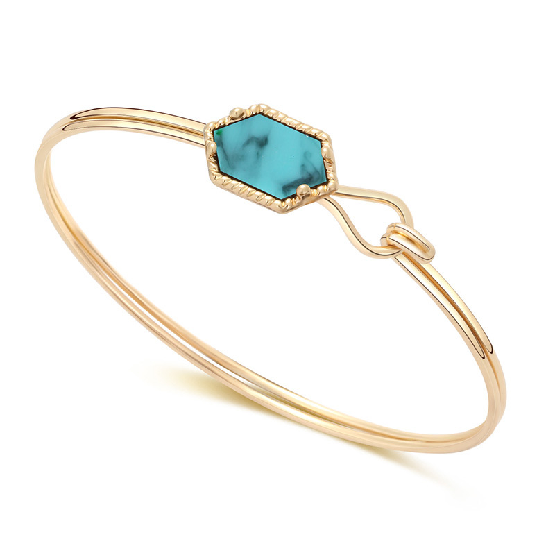 B1945 (12)Gold Turquoise