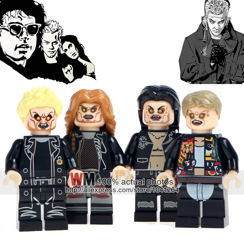 20lots Of Wm6008 The Lost Boys Movie Characters Dwayne David Marko Paul Building Blocks Bricks Educational Children Toys Cleaning The Oral Cavity. Toys & Hobbies