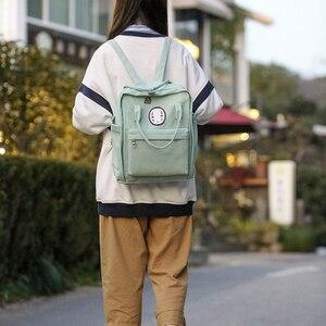 Image 4 - 2020 חדש ניילון הדפסת בית ספר תיק עבור בני נוער בנות תלמיד גבוהה באיכות נשים נסיעות מחשב נייד תרמילי בית ספר ספר תיק