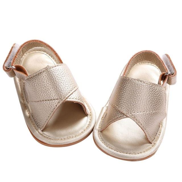 Блестящий Золотой детская обувь для тех, кто только начинает ходить, из искусственной кожи, для детей; для малышей/маленьких мальчиков Мягкая Обувь для малышей; Sapato; обувь для новорожденных Bebes