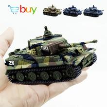 1: 72 4 вида цветов Мини Тигр Битва RC Танк дистанционного управления по радио Panzer бронированный автомобиль детские электронные игрушки для мальчиков детские подарки