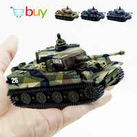 1: 72 4 farben Mini Tiger Schlacht RC Tank Fernbedienung Radio Control Panzer Gepanzerte Fahrzeug Kinder Elektronische Spielzeug für Jungen Kinder geschenke