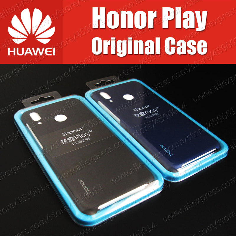 PC Shells Honor Play 2018 Kirin 970 Official 100% Original Huawei Honor Play Case 6.3 Inch COR-AL00