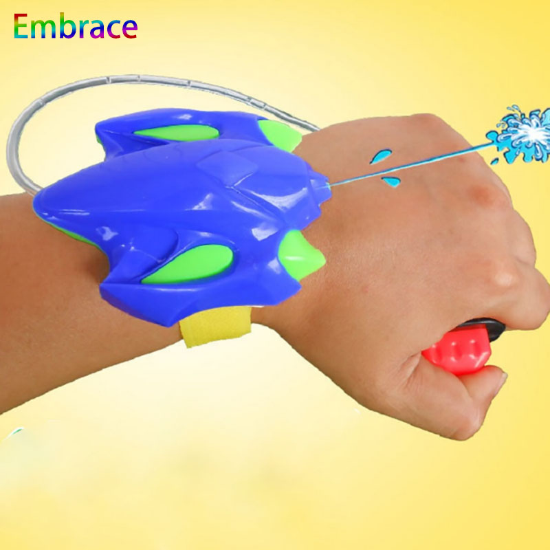 Kids Water Guns Plastic Wrist Sprinkler  Shooting Toy Beach For Children