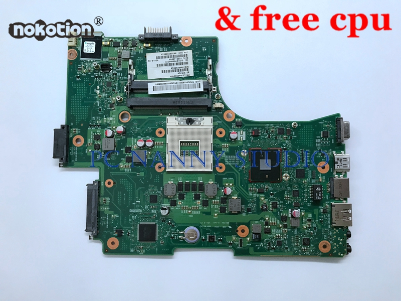 PCNANNY Motherboard for Toshiba Satellite C650 C655 L650 L655 6050A2332401 V000218010 laptop Mainboard works