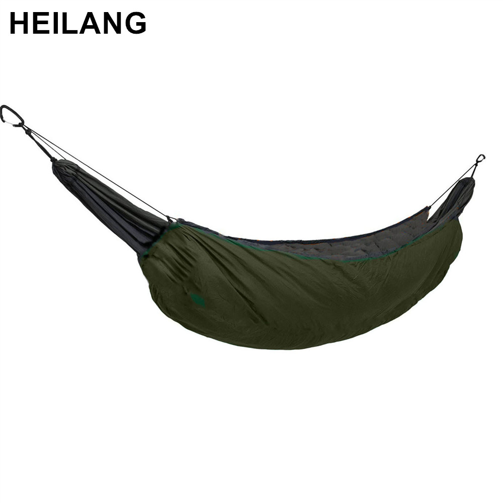 Ultralight Full Length Hammock Underquilt Under Blanket Ultralight Camping Insulation Sleeping Bag 40 F to 68 F (5 C to 20 C) цена 2017