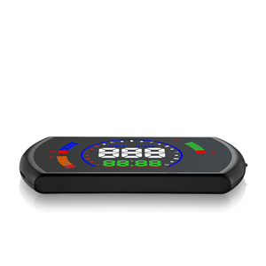 Image 5 - GEYIREN S600 head up display car hud car speed projector OBD interface HUD speed RPM voltage water temperature Fuel cosumption