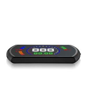 Image 5 - Pantalla head up GEYIREN S600, proyector de velocidad de coche hud, interfaz OBD, velocidad HUD, voltaje RPM, temperatura del agua, consumo de combustible