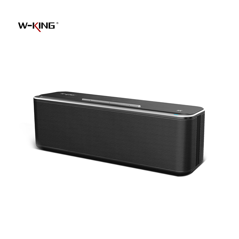 W-King X8 Bluetooth Speaker Wireless Portable Sound System 3D Stereo Music Surround Support Bluetooth,TF AUX USB for Xiaomi4X  360 degree dc 5v usb surround stereo bluetooth speaker portable rechargeable wireless led lights sound speaker for smartphone