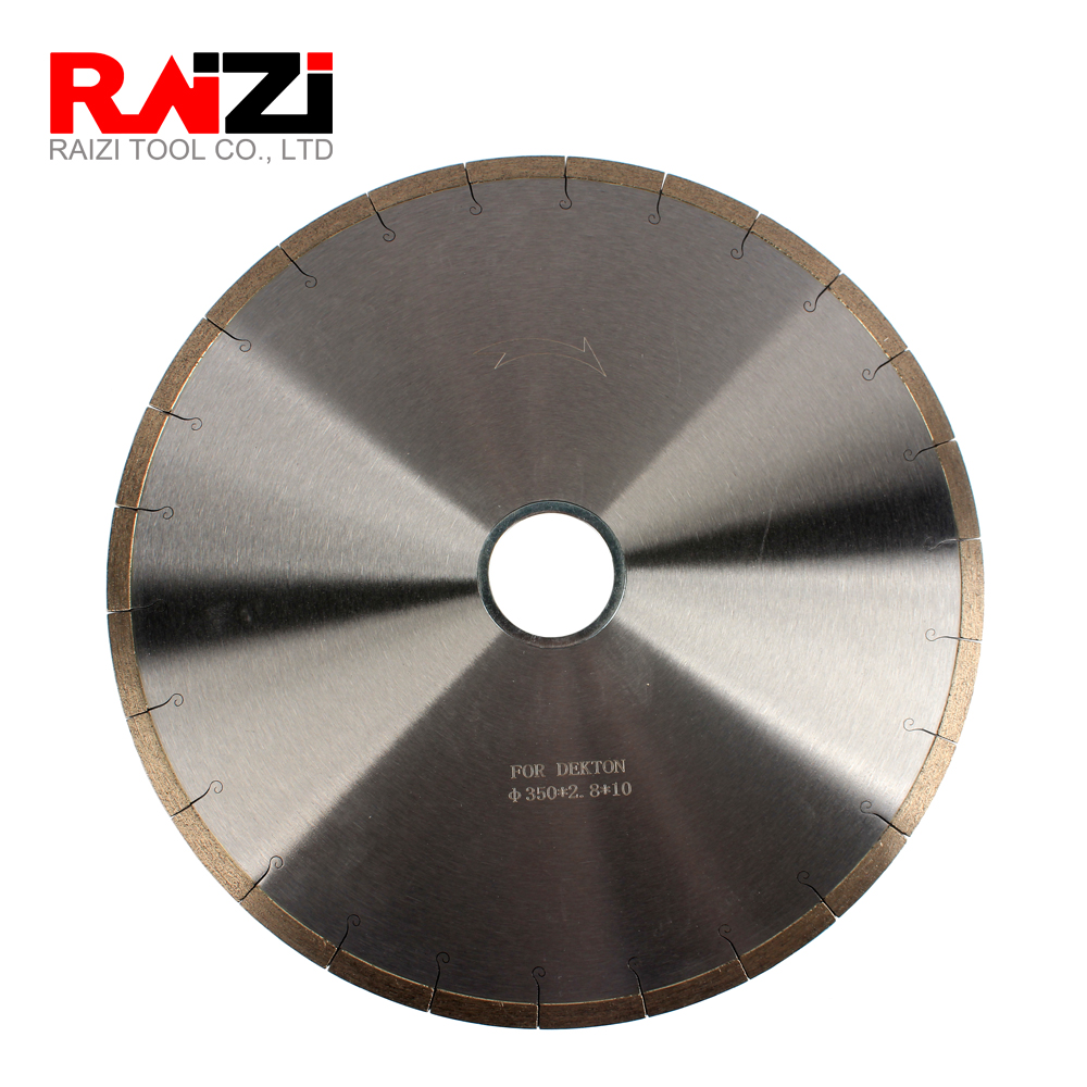 Raizi 14 Inch 350mm Bridge Saw Blade For Dekton and Porcelain
