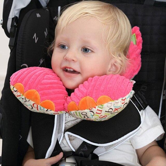 Cute Cartoon Baby Shaping Pillow Infant Stroller Menyusui Bantal Car Seat Headrest Neck Protection U