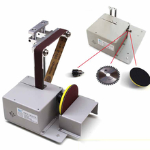 Electric Belt Sander Mini Ponceuse Multi-function Cutting Machine Table Saw DIY Woodworking Desktop Sanding Grinding Machine electric belt sander mini ponceuse multi function cutting machine table saw diy woodworking desktop sanding grinding machine