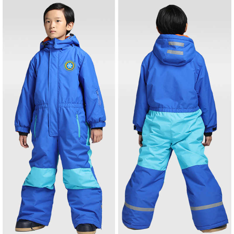 12bba48a2 ... RAY GRACE Kids' Snowboard Snowmobile One-Piece Ski Suit Snowsuit Boys  Girls Thermal Waterproof ...