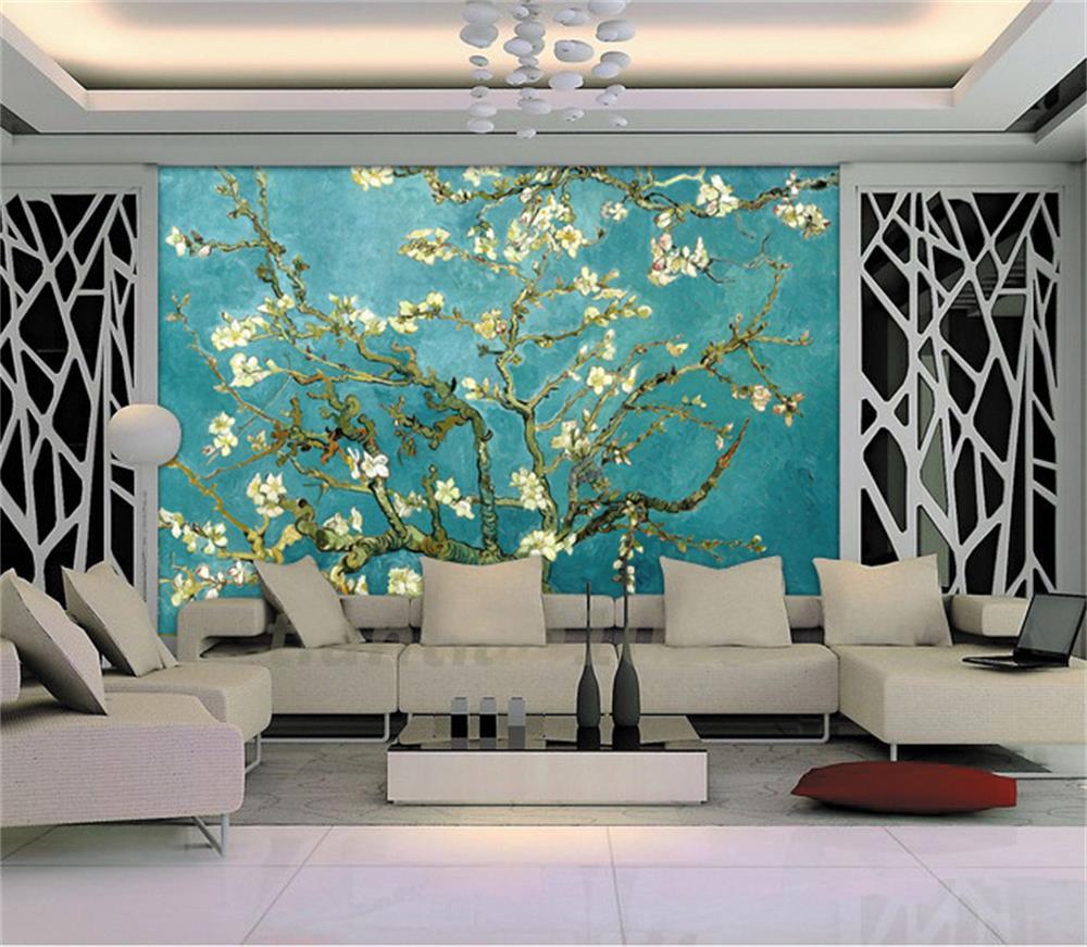 3d Room Wallpaper Custom HD Photo Mural/Plum Blossom In