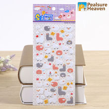 1sheet Sheep Alpaca kawaii animal stickers album diary Notebook DIY paper decorative sticky sticker for