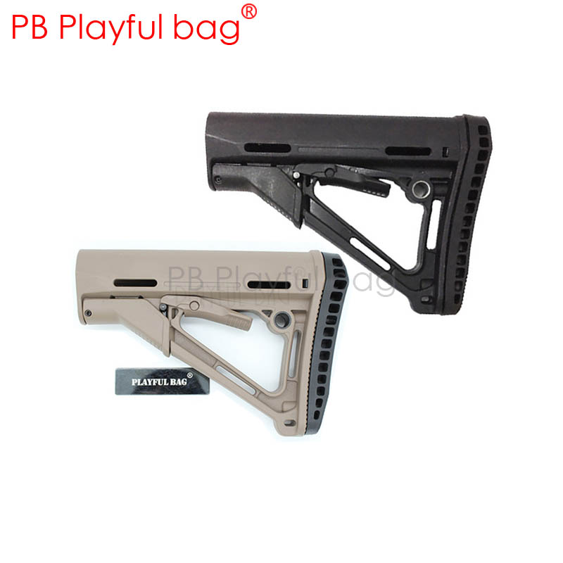 Playful Bag Outdoor Cs DIY Competitive Equipment Hobby Intimate Accessories Jinming9 Nylon Rear Support CTR V2 Gel Ball Gun KD30