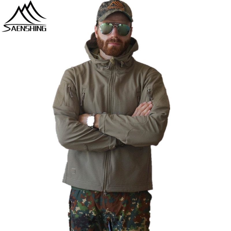 New Military Tactical Outdoor Soft Shell Fleece Jacket Men Army Polartec Sportswear Thermal Hunt Hiking Sport Hoodie Jackets us military fleece tactical jacket men thermal outdoors polartec sport hooded coat militar softshell hiking outdoor army jackets