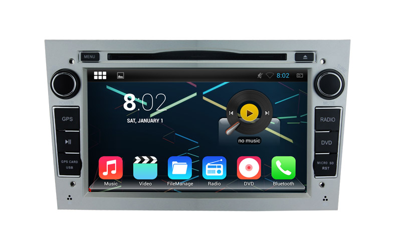 1024×600 2GB RAM Android 7.1 or 6.0 PC Car DVD GPS Radio For Opel Zafira Meriva Vivaro Tigra Astra Antara Vectra Corsa