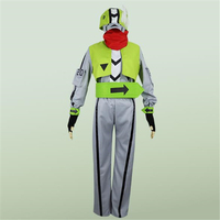Green Aotu World Tops Pants Hats And Other Seven Sets of Role play Cosplay Costume Men And Women Applicable