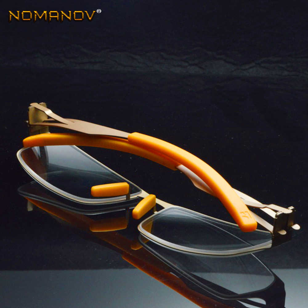 fa1e4093ac ... No Solder Joint Without Screw Ultra light Frame Custom Made Optical  Prescription Myopia Glasses Photochromic ...