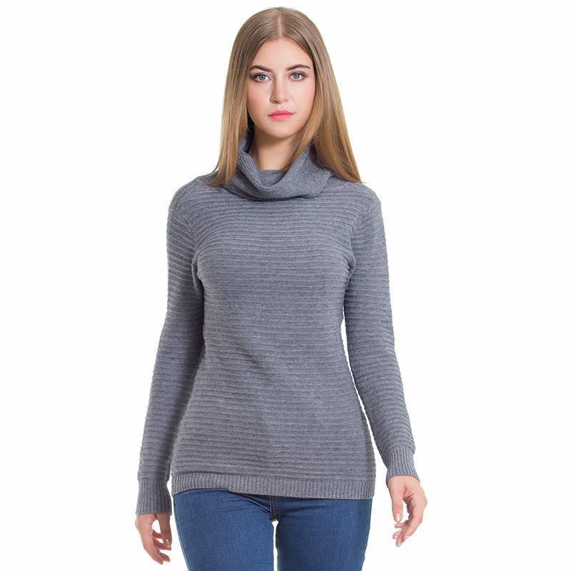 Jumper Sale Poncho 2018 Autumn Sweater Pleat Knitting Unlined Upper Garment High Lead Wollens Blouse Pullover Self-cultivation