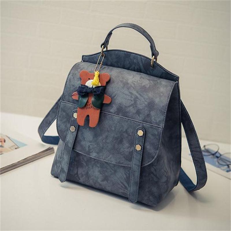 Good Quality 2016 New Backpacks Japan and Korean Style backpacks Women Fashion Solid Shoulder Bags Backpacks For Teenage Girls