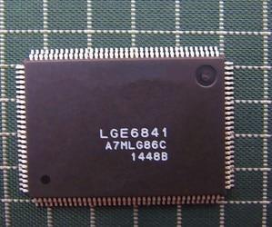 Free Shipping  5PCS LGE6841 E6841 QFP пылесборник для пылесоса filtero lge 02 5 standard lge 02 5 standard