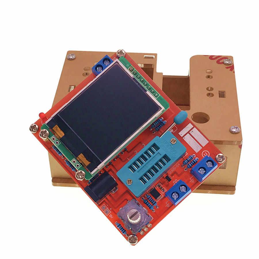 2017 tft gm328トランジスタテスターダイオードlcr esr電圧計pwm方形波周波数信号発生器キット