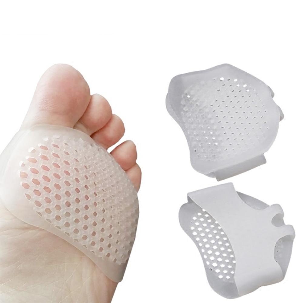 Silicone Gel Ball Foot Cushion Insoles Metatarsal Insert