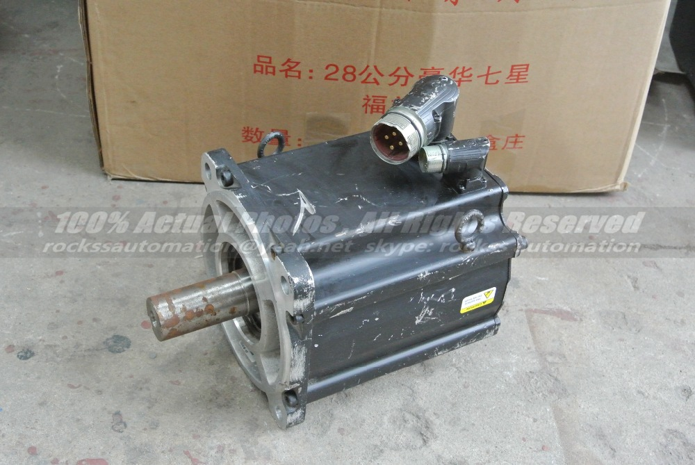 Used in Good Condition 460V AC Servo Motor MPL-B640F-MJ72AA Inverter Duty High Efficiency Motor 6.11 KW CNC Kit with Free DHL 1761 l16awa ab plc used in good condition