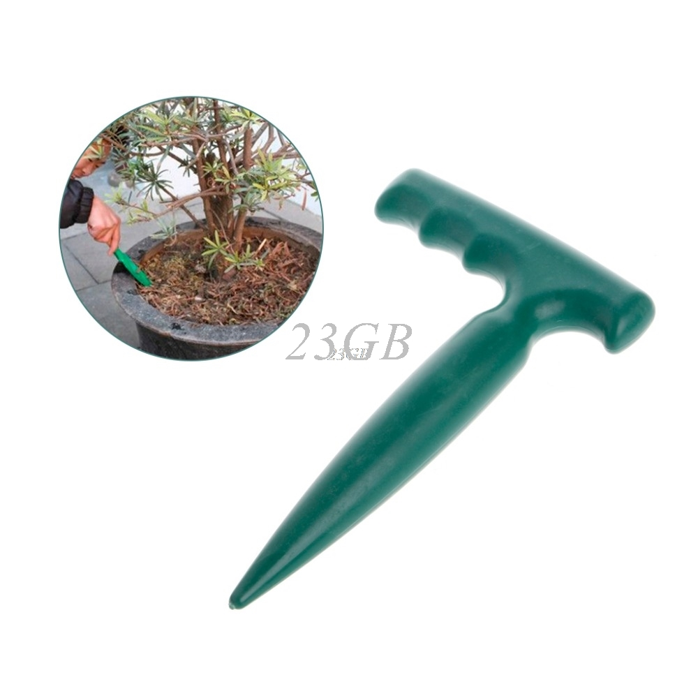 Dibber Digging Hole Tool Garden Bonsai Flower Planting Weeding Seedling Plastic Mini JUN19_20